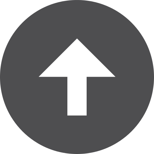 Up arrow in circle